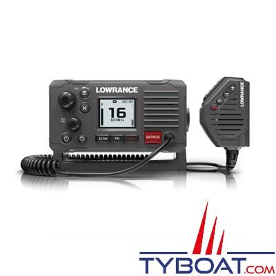 LOWRANCE - VHF marine LINK-6S DSC classe D antenne GPS intégrée