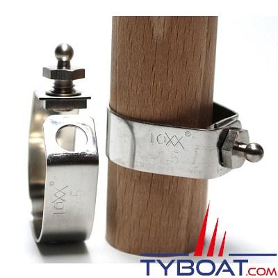 LOXX - TENAX Bouton mâle pour balcon inox de Ø 22 mm - M6 x 8 mm