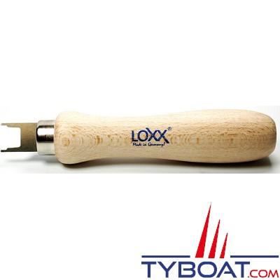 LOXX - TENAX grande clé - laiton chromé