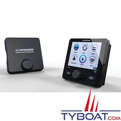 LUMISHORE - Contrôleur EOS STV2202 - LUMIHUB - Pour installation EOS TIX et THX avec plus de 4 projecteurs sous-marin