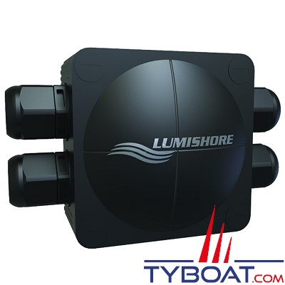 LUMISHORE - HUB Junction Box pour projecteur sous-marin SMX
