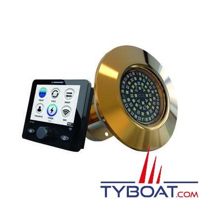 LUMISHORE - Kit de 2 projecteurs sous-marin THX803 EOS Series - COLOR CHANGE + Contrôleur EOS STV2202
