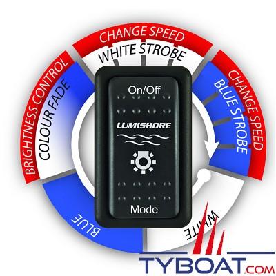 LUMISHORE - Télécommande Lumi Switch pour projecteur sous-marin