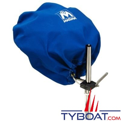 MAGMA - Housse de protection pour barbecue Ø 432mm bleu pacifique