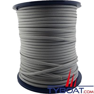 MaloMotion - Cezembre cordage Polyester 24 Fuseaux - Ø  4 mm - Gris (au mètre)