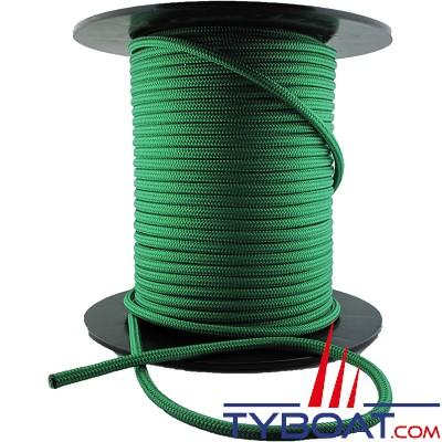 MaloMotion - Cezembre cordage Polyester 24 Fuseaux - Ø  4 mm - Vert (au mètre)