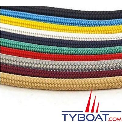 MaloMotion - Cezembre cordage Polyester 24 Fuseaux - Ø  5 mm - Rouge (au mètre)