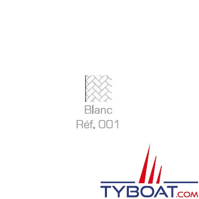 MaloMotion - Cezembre cordage Polyester 24 Fuseaux - Ø  8 mm - Blanc (au mètre)