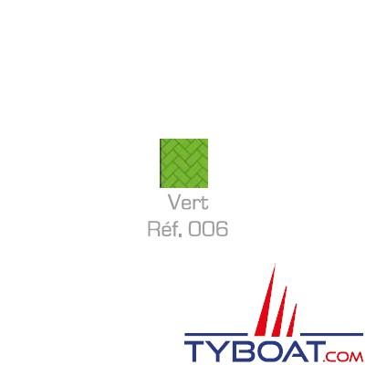MaloMotion - Cezembre cordage Polyester 24 Fuseaux - Ø  8 mm - Vert (au mètre)