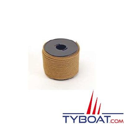 MaloMotion - Mini Classic - Polyester - Ø 4 mm - Ecru (à la bobine de 20 mètres)