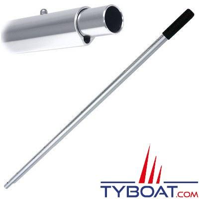Manche aluminium Perfect Pole pour brosses de pont Swobbit - télescopique longueur  60/121 cm