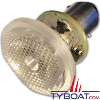 Mantagua - Ampoule à led 10w - BAY15D - blanc chaud - 40°