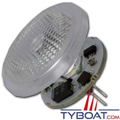 Mantagua - Ampoule à led 10w - MR11 ou GU4 - blanc chaud - 40°