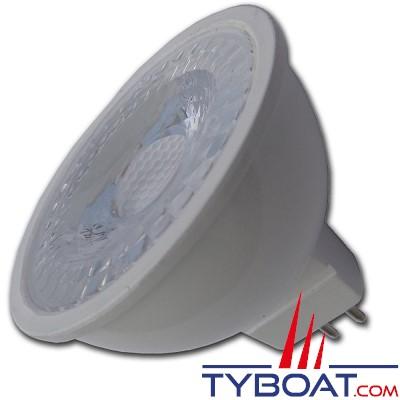 MANTAGUA - Ampoule à led 40w (300lm) - mr16 ou gu5.3 - 5w - blanc chaud - 40° - 9 à 30 vdc