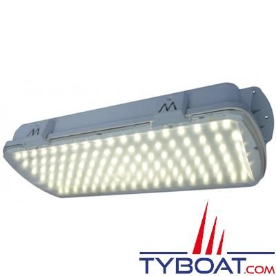 MANTAGUA - KELLER - Plafonnier LED blanc neutre étanche IP65 équivalent fluo 22 Watts - 230 Volts