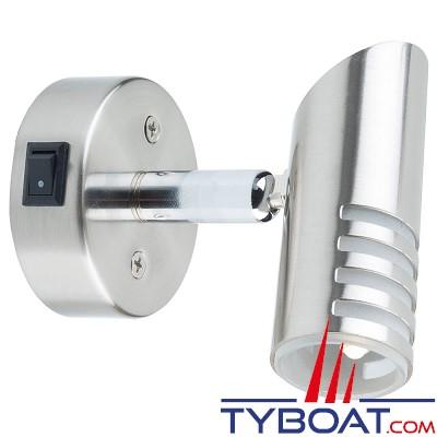 Mantagua - Liseuse belle ile avec interrupteur - 10w - blanc chaud - 1 led g4 - 90°