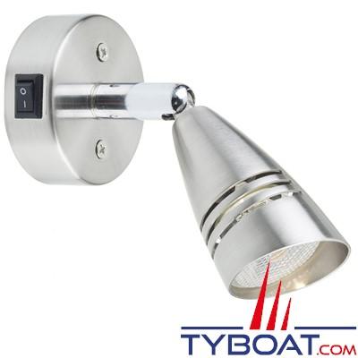 Mantagua - Liseuse Hoedic avec interrupteur - 10w - blanc chaud - 40°