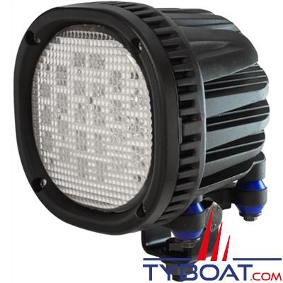 MANTAGUA - Projecteur Led KRENN extérieur - 800 Watts - 7000 lumens - 9/30 Volts - Angle 90°