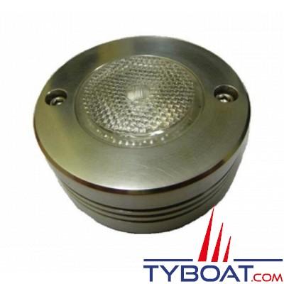 MANTAGUA - Projecteur led pour éclairage des voiles - 10 Watts - Eclairage : 25° - Aluminium anodisé mat