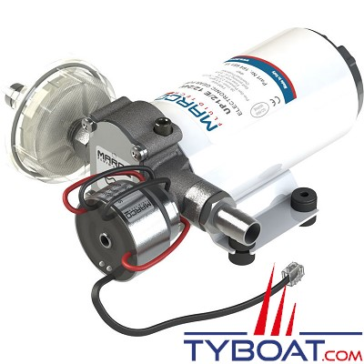 Marco - Groupe d'eau douce à engrenages UP12/E avec régulation électronique - 36 Litres/minute - 12/24 Volts