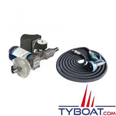 Marco - Kit pompe lavage DP3 - fusible 10 Ampères - 14 Litres/min - 12 Volts