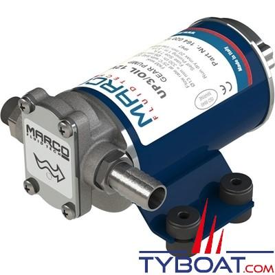 Marco - Pompe de transfert à engrenages UP3/OIL - 5,5 Litres/minute - 24 volts