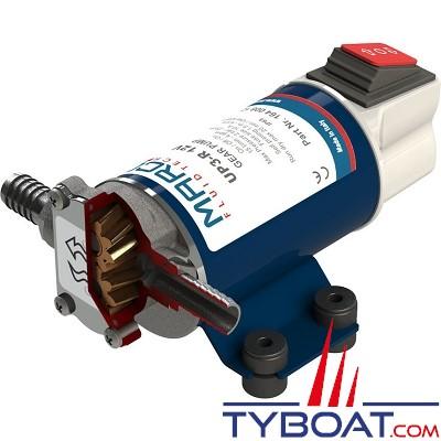 Marco - pompe de transfert huile/eau/gasoil - 12v - 15 litres/mn - interrupteur on/off intégré -  UP3-R