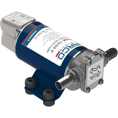 Marco - Pompe de transfert réversible à engrenages UP8-RE - 10 Litres/minute - 12/24 volts - Débit réglable
