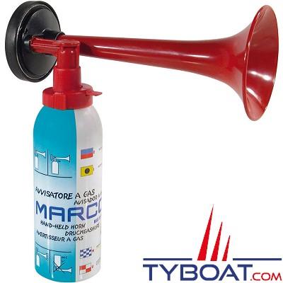 MARCO - TA1-H - Corne de brume à Gaz écologique Non-inflammable - 200ml - 122 dB à 1 mètre