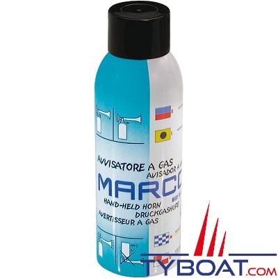 MARCO - TA1B-H - Cartouche de rechange Corne de brume à Gaz écologique Non-inflammable - 200ml - 122 dB à 1 mètre
