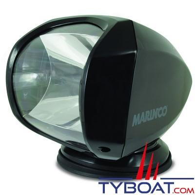 MARINCO - Projecteur de pont motorisé avec télécommande sans fil - couleur noir