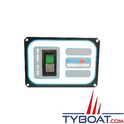 Mase Generators - Interrupteur déporté 138x95mm + 20m de câble pour groupe gammes Mariner et IS