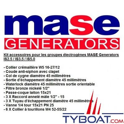 Mase generators - Kit d'installation pour groupe électrogène IS  2.6/ 3.5/ 5.0