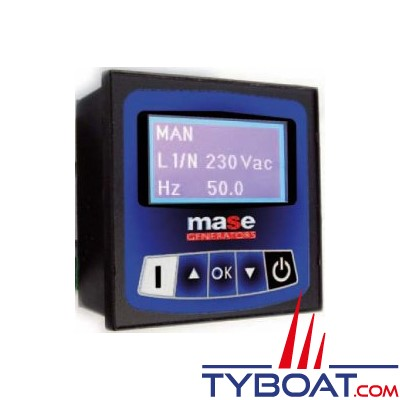 Mase Generators - Panneau déporté CBU de contrôle/commande digital, complet