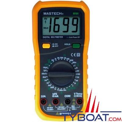 MASTECH - Multimètre Digital avec sonde de température