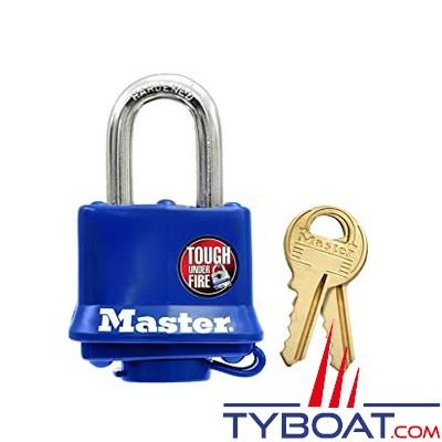Master Lock - Cadenas avec protection thermoplastique Feu - 40 mm