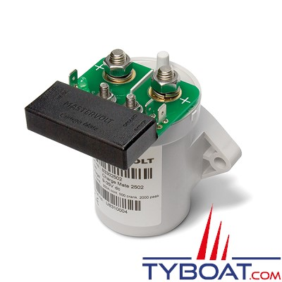 Mastervolt - 83302502 - Coupleur Charge Mate 12/24 Volts - 500 Ampères - IP21