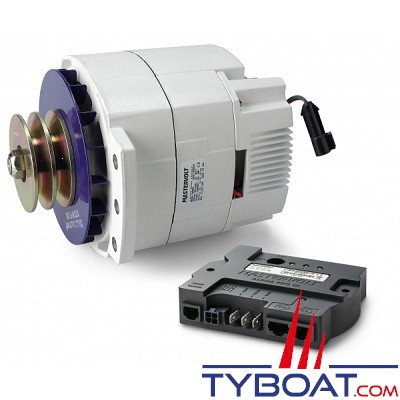 Mastervolt - Alternateur Alpha Pro III 24 Volts -150 Ampères avec régulateur de charge