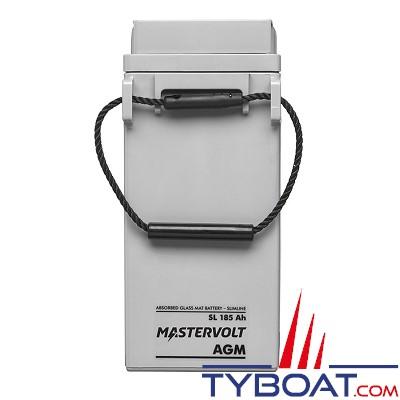 Mastervolt - Batterie AGM - SlimLine 12 Volt  - 185Ah