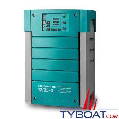 Mastervolt - Chargeur électronique de batterie CHARGEMASTER - 12 Volts - 35 Ampères - 3 sorties