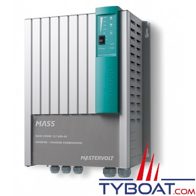 Mastervolt - Chargeur de batterie et convertisseur - Mass Combi 12 volts/1600 watts - 60A (230 Volts) - IP23