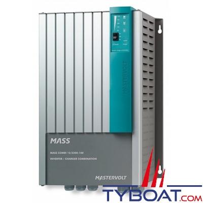 Mastervolt - Chargeur de batterie et convertisseur - Mass Combi 12 volts/2150 watts - 100A (230 Volts) - IP23