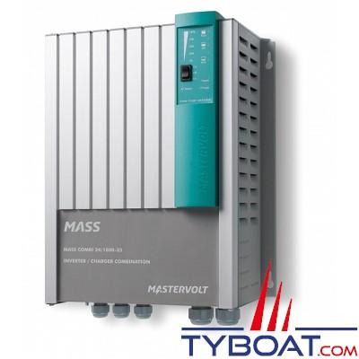 Mastervolt - Chargeur de batterie et convertisseur - Mass Combi 24 volts/1800 watts - 35A (230 Volts) - IP23