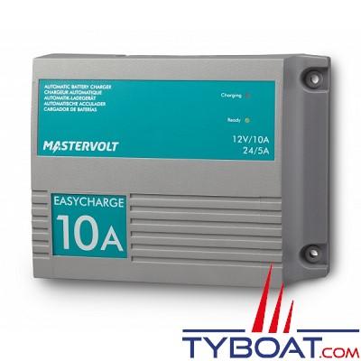 Mastervolt - Chargeur électronique de batterie - EasyCharge 10 Ampères - 12 Volts