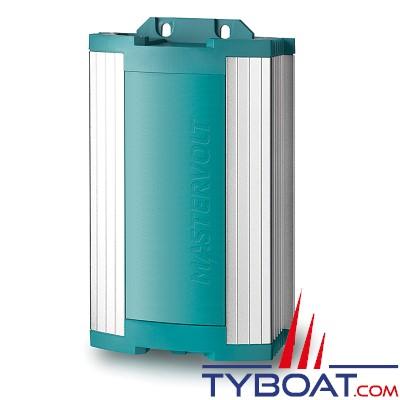 Mastervolt - Chargeur électronique de batterie - étanche IP21 - ChargeMaster 12/15-2 - 12 Volts/15 Ampères - 2 sorties