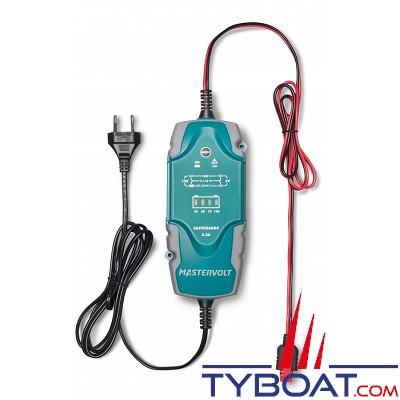 Mastervolt - Chargeur électronique de batterie - Portable - EasyCharge 4.3 Ampères - 6/12 Volts