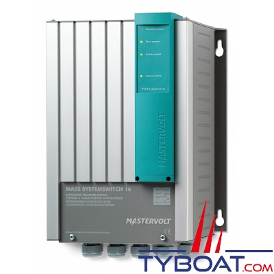 Mastervolt - Commutateur AC 230 Volts - MASS SYSTEMSWITCH - 16kW