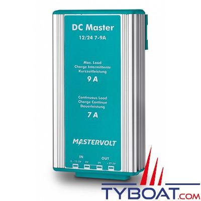 MASTERVOLT- Convertisseur DC/DC - DC MASTER 12/24-7A - 12 Volts - 191 Watts - 7 Ampères