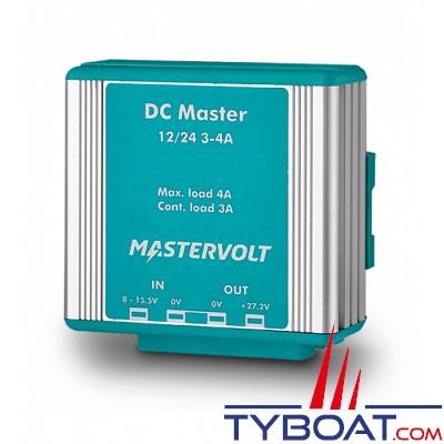 MASTERVOLT- Convertisseur DC/DC - DC MASTER 12/24-3A - 12Volts - 82 Watts - 3 Ampères