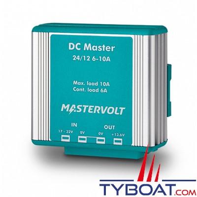 Mastervolt- Convertisseur DC/DC - DC MASTER 24/12 volts - 6A - 82 Watts